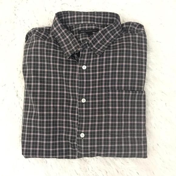 John Varvatos Other - John Varvatos plaid button down shirt size XL